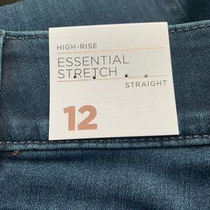 Lane Bryant Jeans - Lane Bryant Tighter Tummy Straight Jean NWT Size12